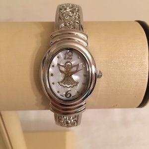 Avon Heavenly Angel Cuff Watch
